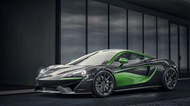 Mclaren 570s Coupé 💚 New Livery Available for the 570s! Design Description: FMP And yes there's other colors 😉