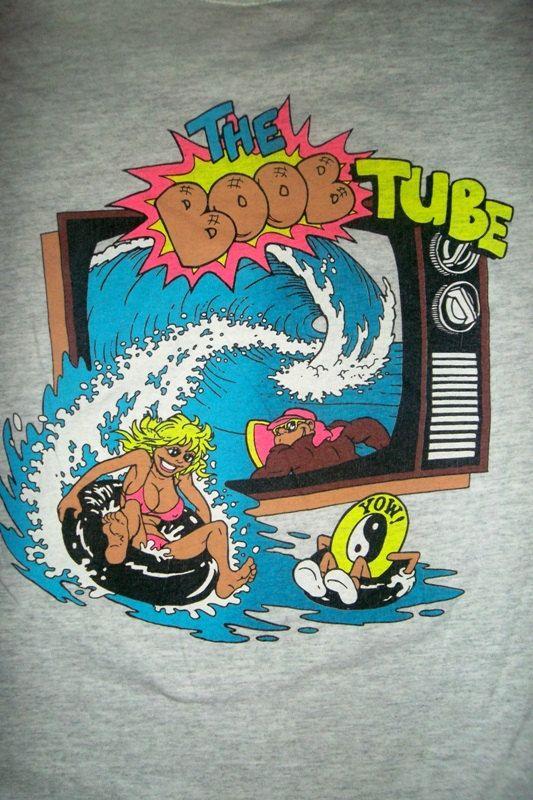 Vintage paradise hawaii 1980s t shirt original surf designvintage