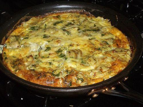 A Sicilian St. Joseph's Day Frittata Recipe. Paleo and Primal friendly.