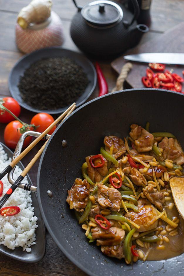 Курица гунбао (kung pao) — часть вторая Хочу снова немного побаловать вас китайской кухней, в этот раз сычуаньской. Это всегда быстрая подготовка ингредиентов и стремительная обжарка в раскалённой до предела эмоций сковороде. Помните, мы уже готовили курицу Гунбао (kung pao)? Ну так вот я соскучился по этому простому классическому рецепту и решил сделать всё немного...