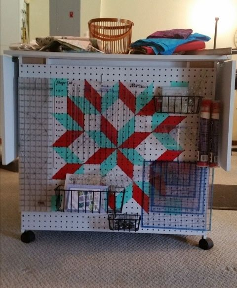 15 best images about Quilt Ruler Storage on Pinterest The secret, Storage ideas and Quilting room