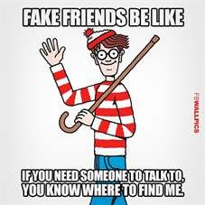 Fake Friends Waldo Meme Wallpaper