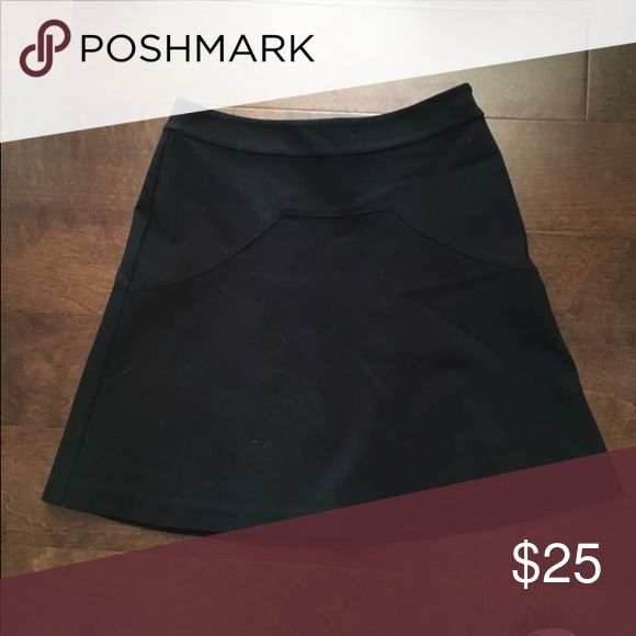 Annie Griffin size 4 little black skirt Adorable! Awesome for work with tights or with flats in the summer. Annie Griffin Skirts
