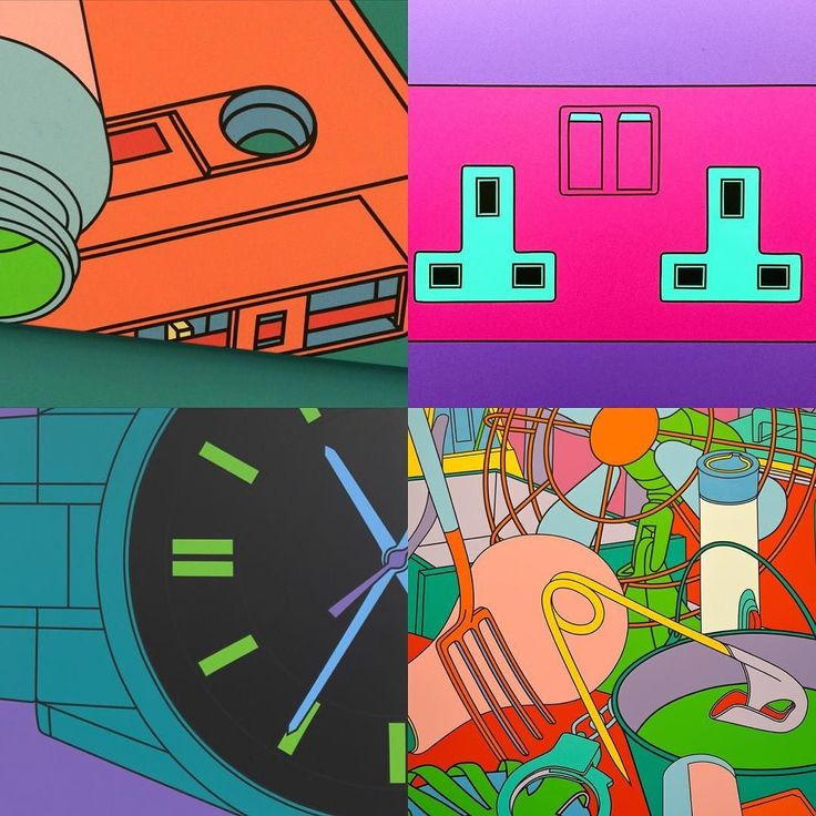Almost want to go one more time to the @serpentineuk to see more of Michael Craig-Martin by camillewalala