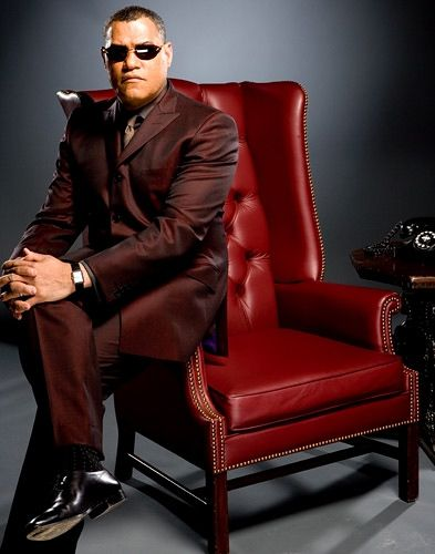 Lawrence Fishburne (representing Morpheus from The Matrix) plays Special Agent-in-Charge Jack Crawford, head of Behavioral Sciences at the FBI in NBC tv series Hannibal.