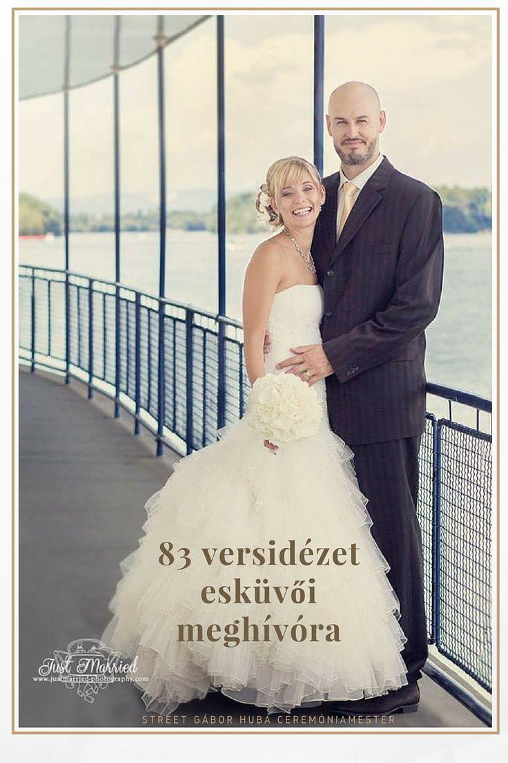 83 vers idézet esküvői meghívóra / 83 wedding quotes in Hungarian