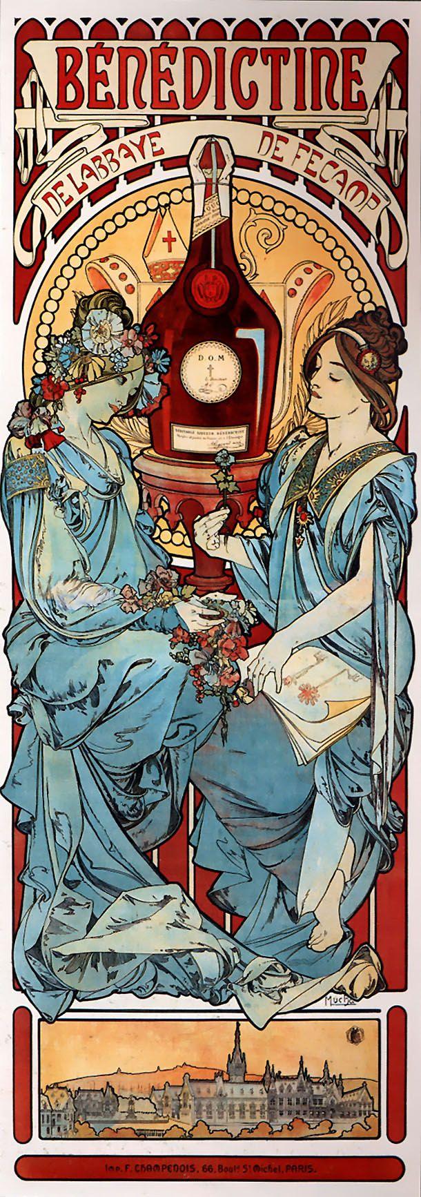 Alphonse Mucha | The House of Beccaria~