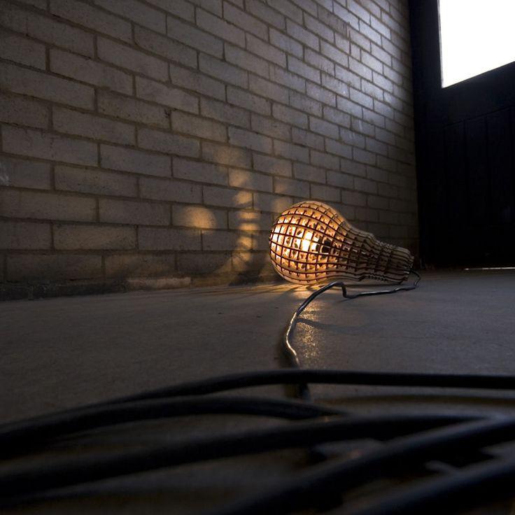 top3 by design - Suck UK - wooden bulb pendant-floor lamp