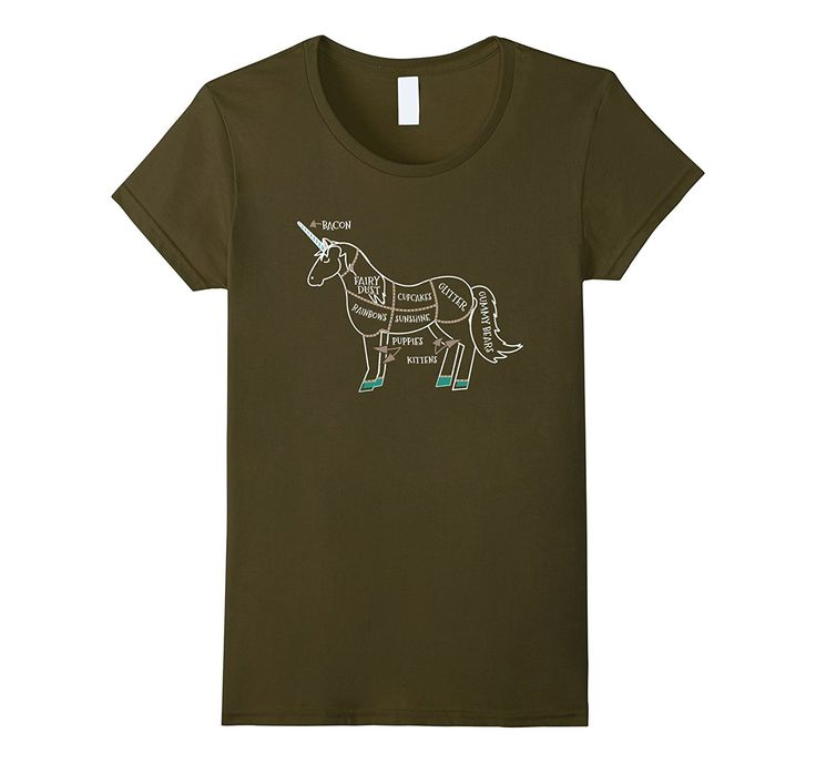 Unicorn Meat Shirt-Unicorn Meat T Shirt-Unicorns Are Made Of