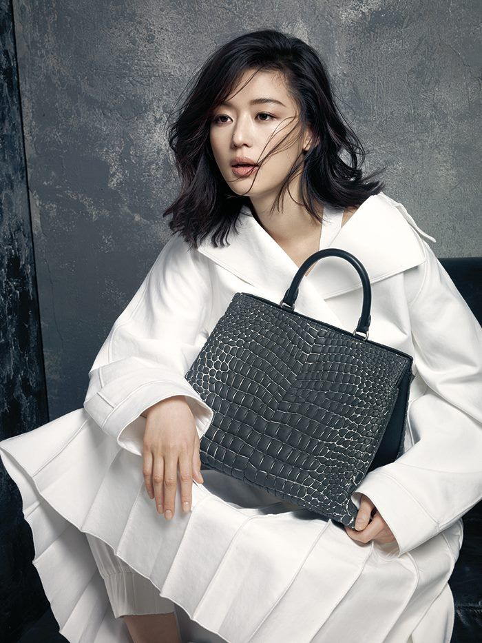 Jeon Ji Hyun for Rouge & Lounge Spring 2015 Ad Campaign