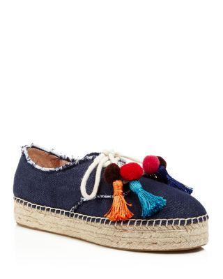 KATE SPADE Pom Espadrille Sneakers. #katespade #shoes #sneakers