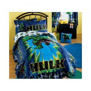 Incredible Hulk Bedding For A Mean Green Bedroom