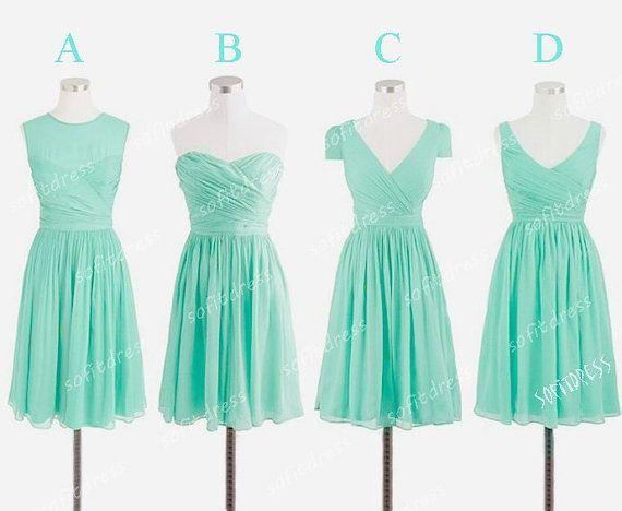 tiffany bridesmaid dress mismatch bridesmaid dress by sofitdress, $90.00