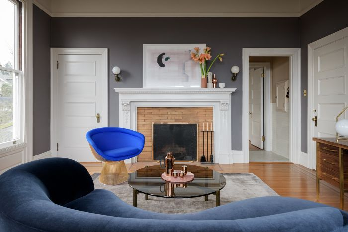 A Color Expert S 7 Step Guide To Picking The Perfect Paint Color Stress Free Blue Living Room Living Room Designs Cute Living Room