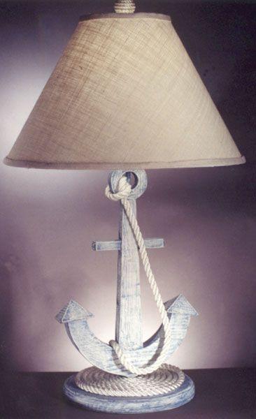 Anchor Lamp for coastal home.