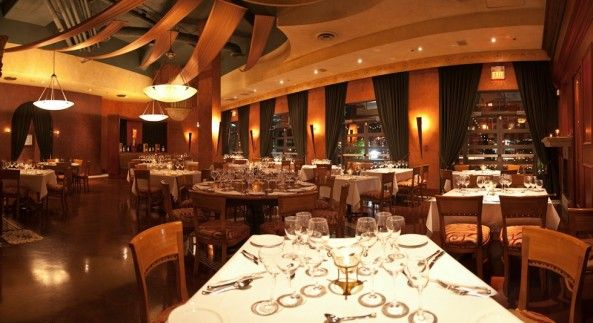 La Terrazza Italian Restaurant Yaletown   Several different private rooms available depending on guest count