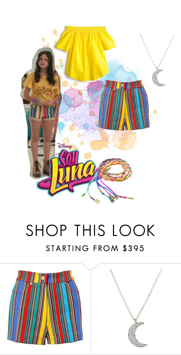 """soy luna"" by maria-look on Polyvore featuring Versace, Finn and J.Crew"