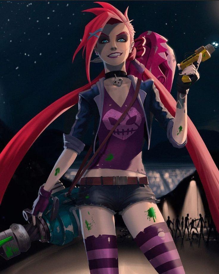 Slayer Jinx Jinx league of legends, Lol league of