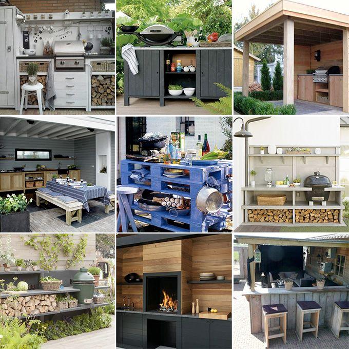 Met een buitenkeuken kun je nog meer van het buitenleven genieten. Heerlijk buiten bakken, grillen en barbecuen terwijl je van de zon geniet. Gelukkig hoeft de tuin helemaal niet enorm groot te zijn om toch van een buitenkeuken te genieten. Welke.nl zocht 15 inspirerende buitenkeukens voor je op!