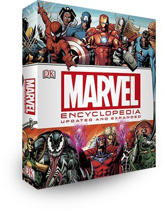 Marvel Encyclopedia   From Waterstones   Price £24