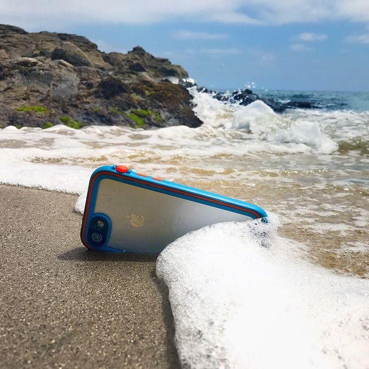 Sand proof. Waterproof. Drop proof. by @markeymarkthesharkeyshark
