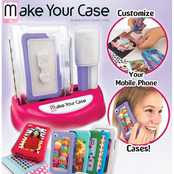 Make your Case - Case Maker Mould your own mobile phone cases and customise them to your personal style and taste.Comes with enough moulding material to create two cases from scratch plus four ready-made phone cases to decorate! http://www.comparestoreprices.co.uk/childs-toys/make-your-case--case-maker.asp