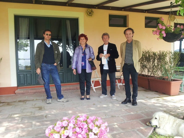 Rosanna, Aroldo, Franco e Marco are friends of Santa Igia!!