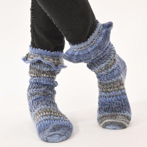 Hier findest du alles, was du zum Socken stricken …