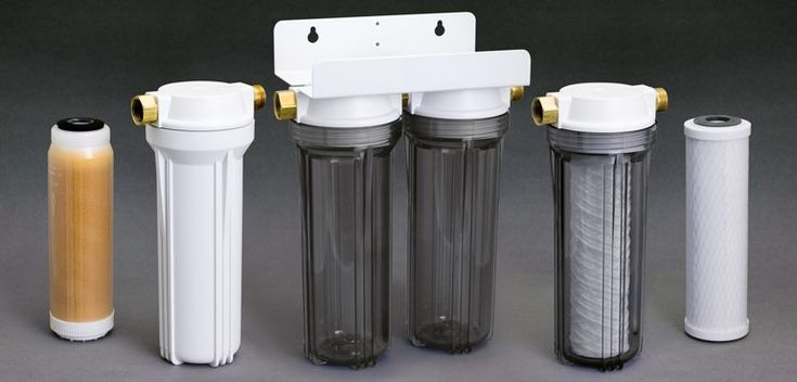 RV water filter canisters