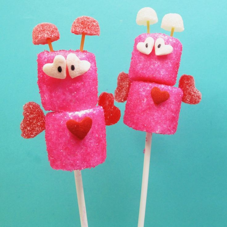 Marshmallow love bugs. So cute want to make these for the girls class