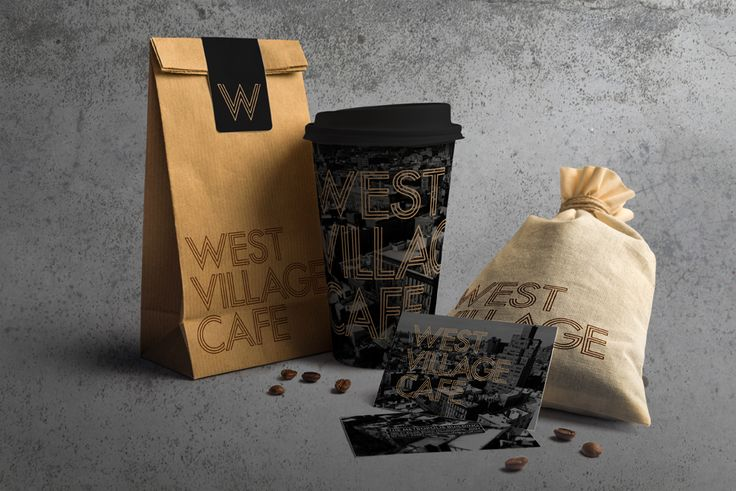 West Village Cafe. Branding and Identity Design.