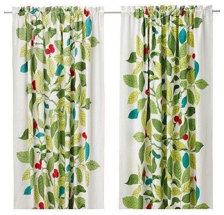 IKEA STOCKHOLM BLAD Pair of curtains modern curtains