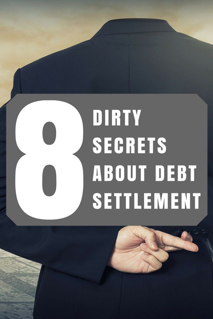 If you've ever considered debt settlement you know they promise to get you a great deal. But beyond the guarantee of success is a string of secrets they don't tell you. If you knew, you'd never want to try debt settlement.