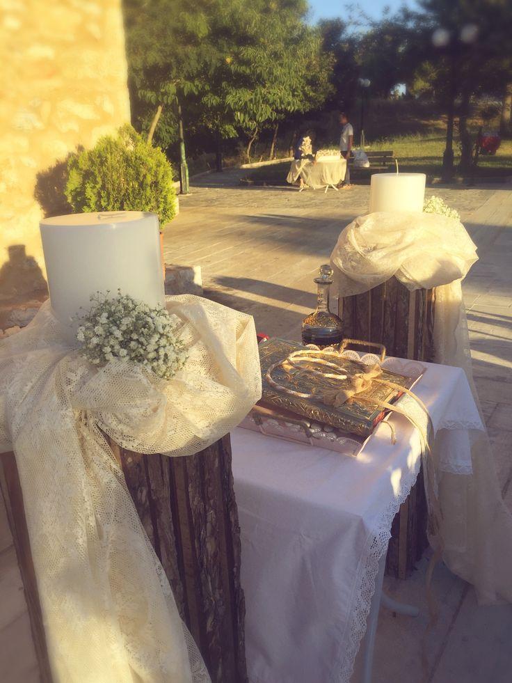 Λαμπάδες γάμου...