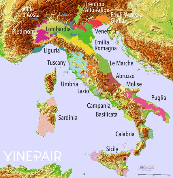 4 Animated Relief Maps Of Europe's Famous Wine Regions   VinePair