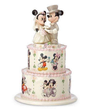 Another great find on #zulily! Minnie's Wedding Day Wishes China & 24k Gold Figurine #zulilyfinds