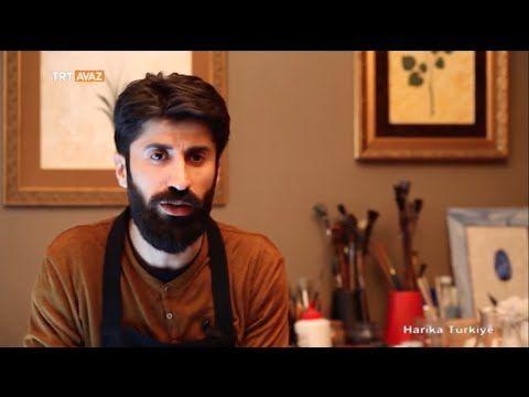 Garip Ay Ebru Sanatı - YouTube