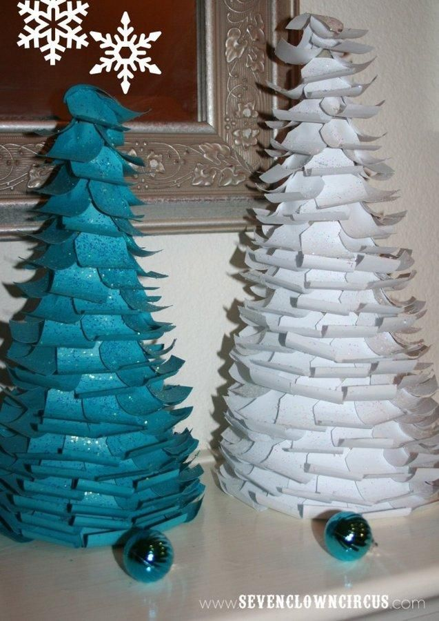 135 Best Diy Christmas Paper Decorations Images On