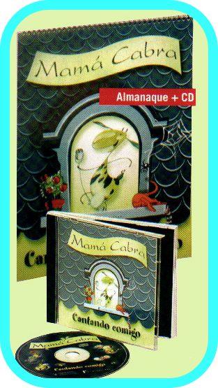 """""""CANTANDO COMIGO"""" é  un almanaque musical e un CD que propón unha canción para cada mes do ano escolar."""