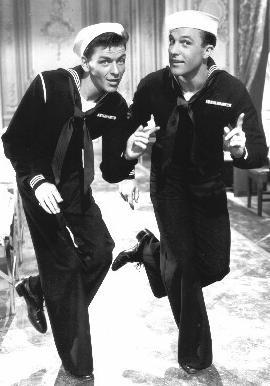 Anchors Aweigh-Frank Sinatra and Gene Kelley