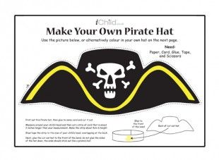 how to make sure you help to make your papers buccaneer cap for the purpose of kids