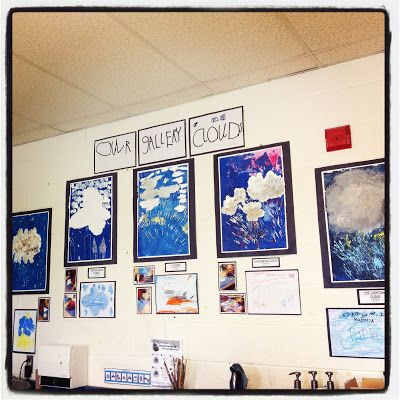 Our Kindergarten Journey: Our Cloud Gallery Fabulous Blog too!