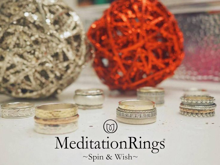 """Make her Wish come true this #Christmas with a """"Meditation"""" Spinning #Ring. Browse our MeditationRings here: https://www.danasgoldsmithing.com/collections/all/meditationrings  . . #jewellery #gift #fashion"""