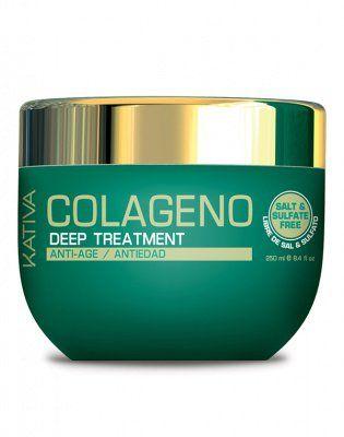 Маска для волос Интенсивный коллагеновый уход COLLAGENO Kativa, 250 гр. от Kativa за 729 руб!