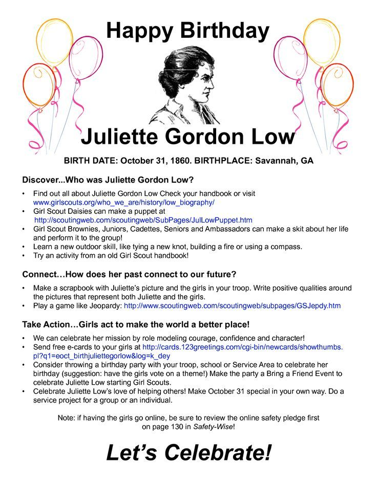 Juliette Low Birthday Activities Ba6aeab23b827ef9806ac36c6a4399ae