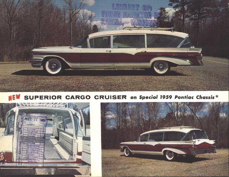 1959 Superior Pontiac Cargo Cruiser. 50s CarsRetro ...