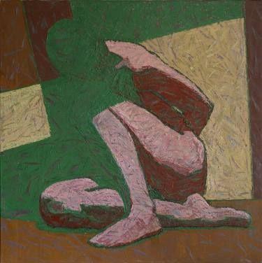 """Saatchi Art Artist Svetlana Shebarshina; Painting, """"Seated."""" #art"""