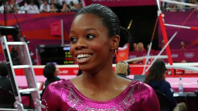 Gabby Douglas wins Olympic gold in individual all-around!