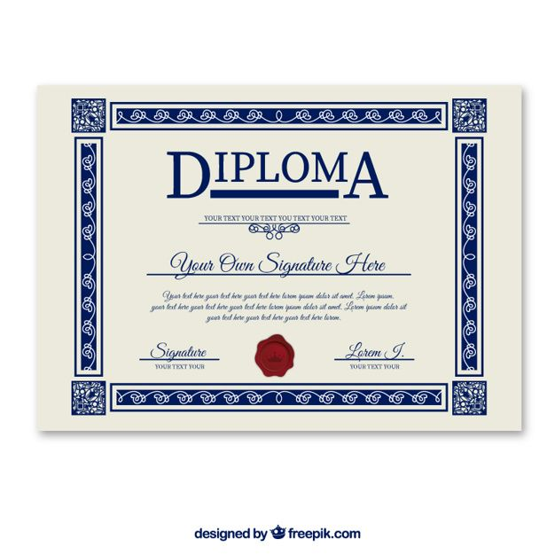 Image result for diploma templates free download