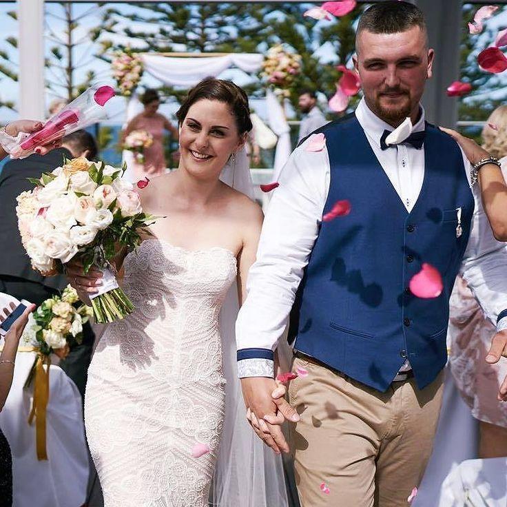 Rose petsl confetti for wedding ceremony- simply beautiful!